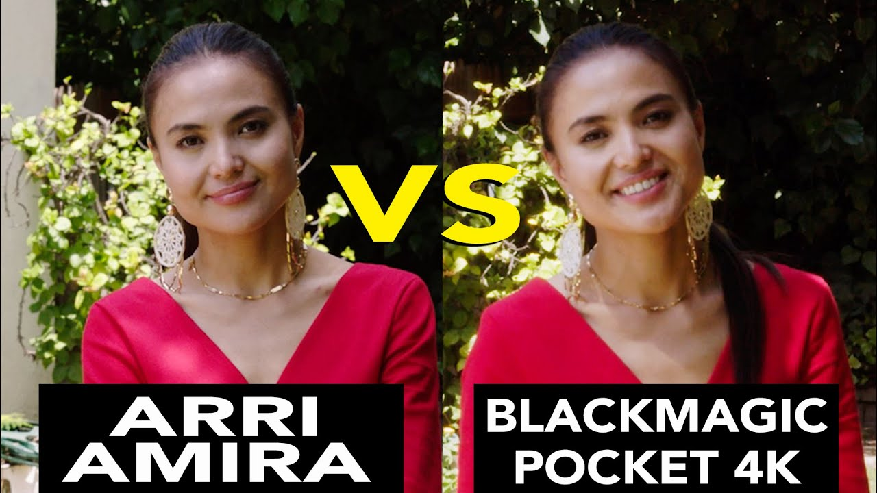 ARRI Amira VS Blackmagic Pocket Compact Camera 4K! REALLY?!