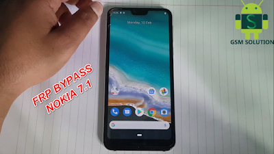 Bypass Nokia 7.1 FRP Lock Android 10 Without Pc.