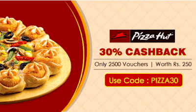 (Live) Crownit- Get Flat 30% Discount On Pizzahut Gift Vouchers