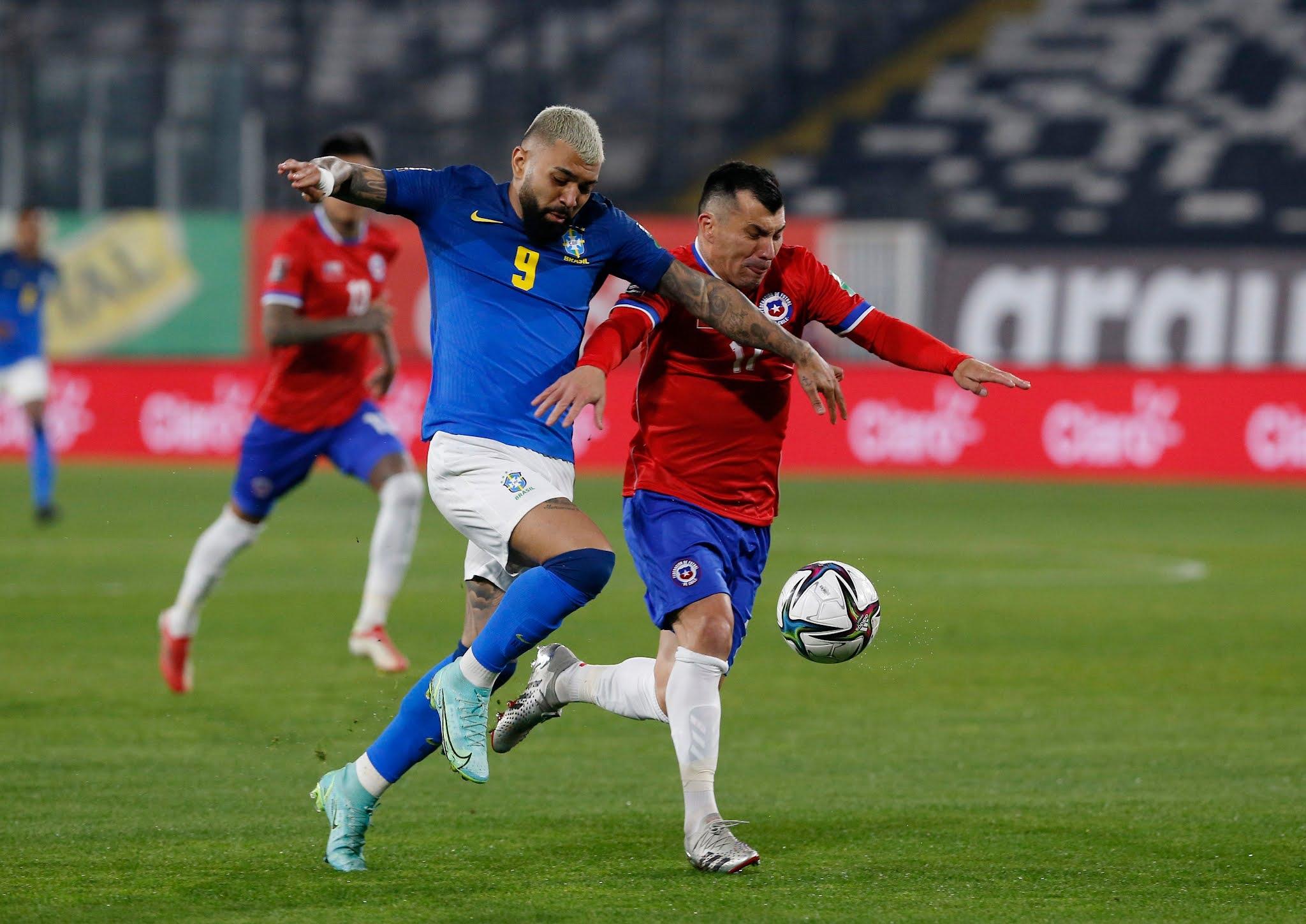 Chile y Brasil en Clasificatorias a Catar 2022, 2 de septiembre de 2021
