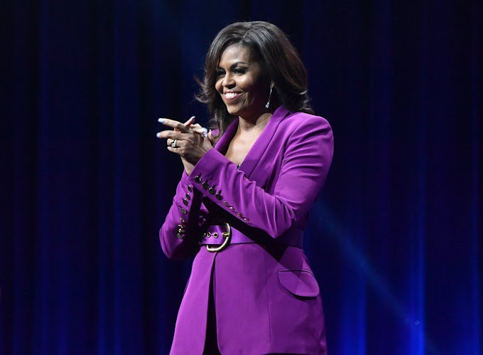 Michelle Obama named 'most admired' woman in the world for the second year in a row