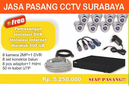 Jasa Pasang CCTV Murah Surabaya Dan Bergaransi 0857.4543.7157