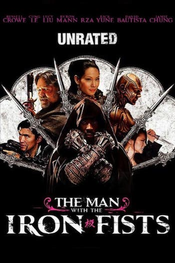 The Man with the Iron Fists 2012 480p 300MB
