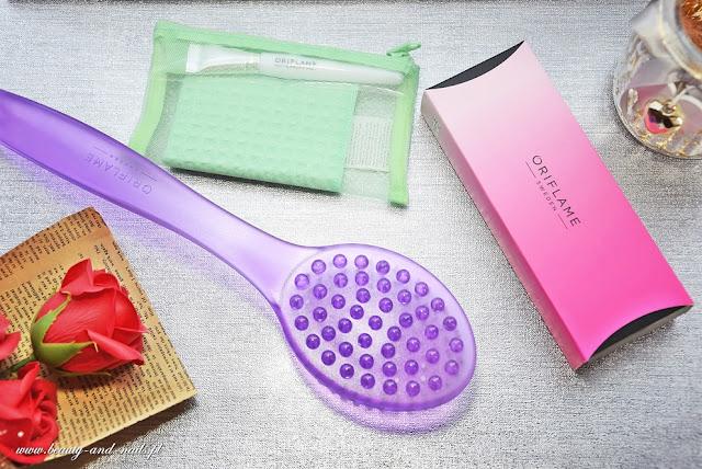 Zagarek Energy Colour, szczotka i zestaw do maseczek - Oriflame.