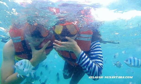 aktivitas selama wisata trip satu hari pulau pari kepulauan seribu selatan