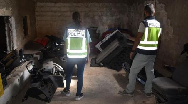 Desarticulada una red que robaba vehículos y usaba sus piezas en coches accidentados para venderlos