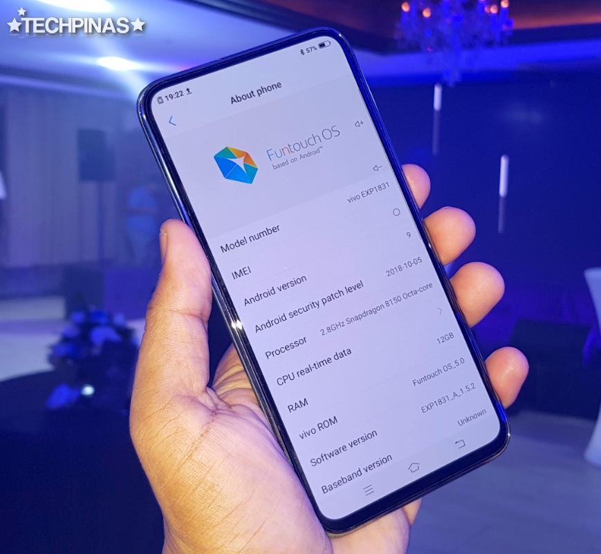 Vivo APEX 2019, Vivo APEX 2019 Philippines