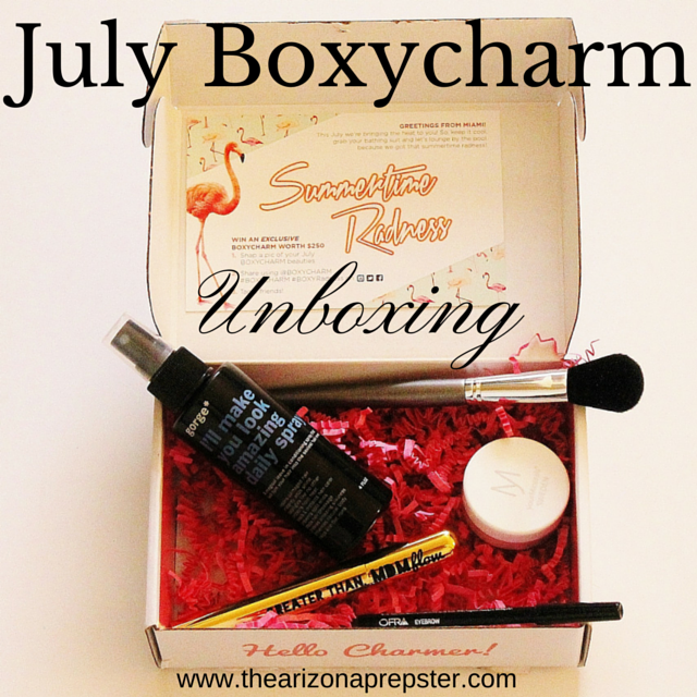 BOXYCHARM Unboxing | July 2015