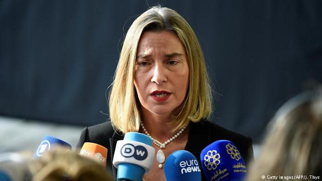 Mogherini exige elecciones libres en Venezuela