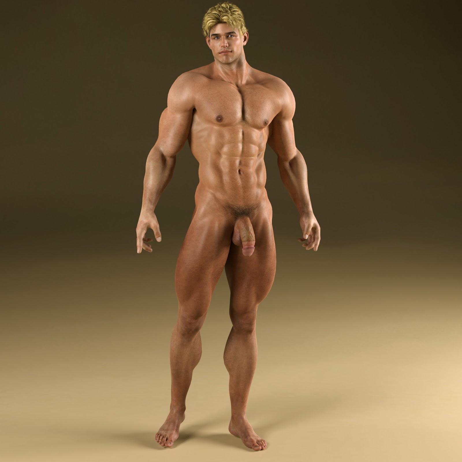 Provocative Wave For Men Super Heros Nude-1220