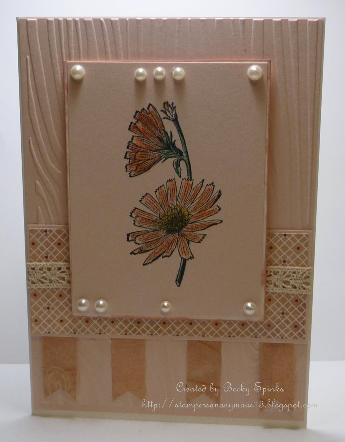 ODBD Chicory Single, ODBD Customer Card of the Day by Becky Spinks