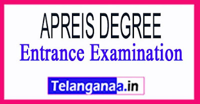 APRDC CET 2018 Notification - APREIS Degree Entrance Examination
