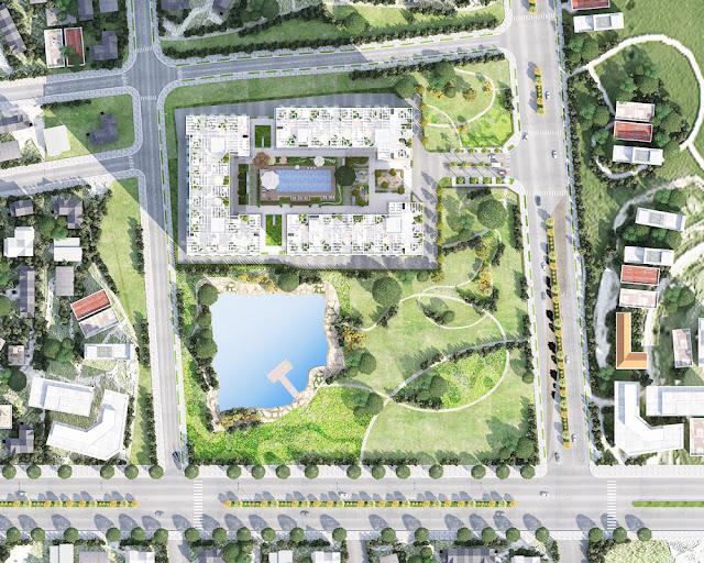 Mặt bằng Dự án căn hộ Chung cư Prosper Plaza