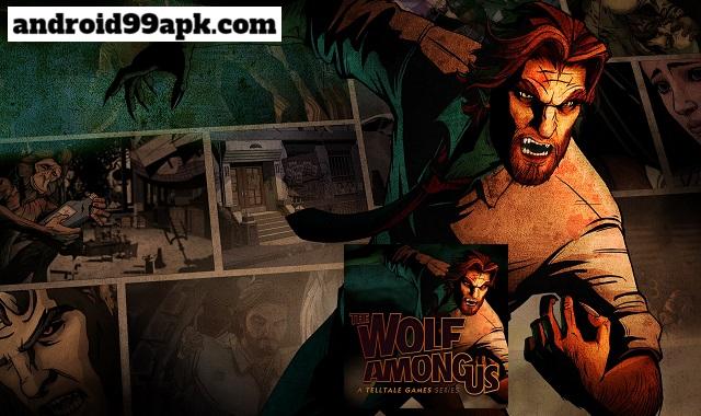لعبة The Wolf Among Us v1.23 نسخة كاملة (بحجم 607 MB) للأندرويد