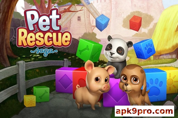 pet rescue saga 1.210.8 Apk + Mod (File size 85 MB) for android