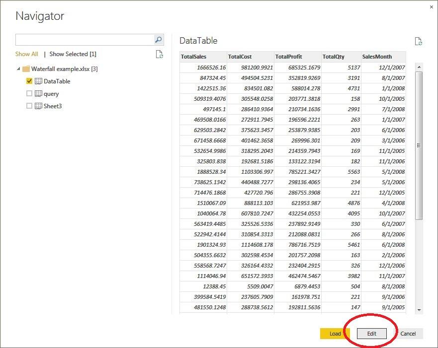 Realized Design: Data type Changes when loading Power BI Data