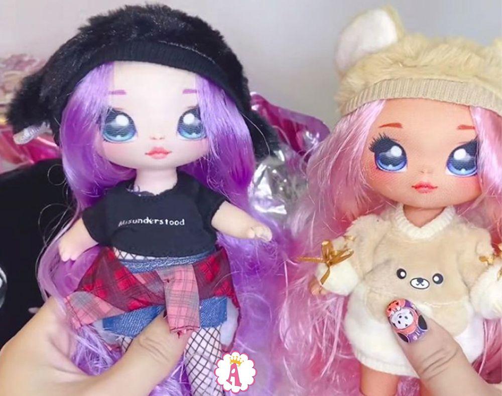 Новые мягкие куклы с волосами На На На Сюрприз