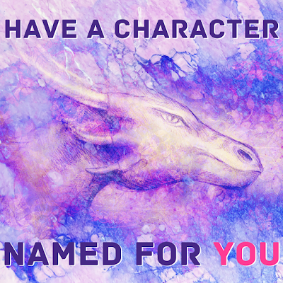 Have a character named for you!
