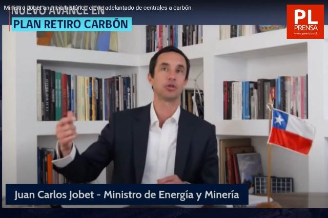 Ministerio de Energía anuncia histórico cierre adelantado de centrales a carbón