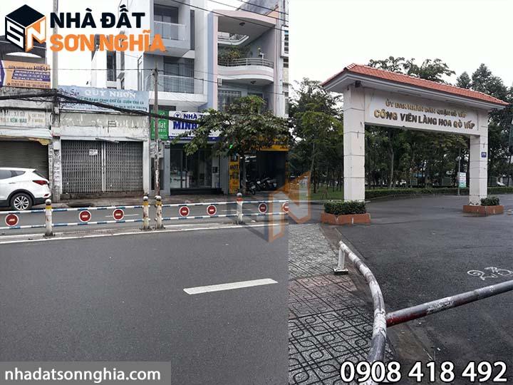 Nhà mặt tiền Cây Trâm phường 9