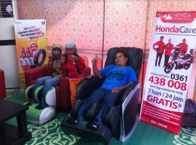 Bale Santai Honda Bali 2018