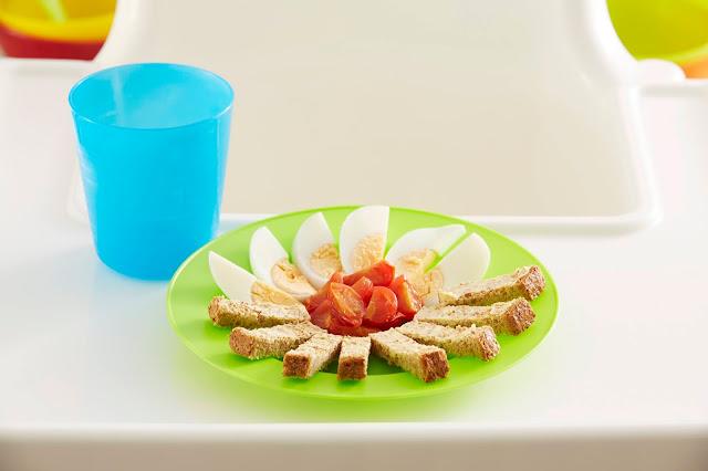 Receta de huevos y tomates para el desayuno