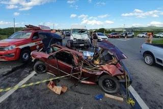 Morre criança vítima de acidente envolvendo dois veículos na Paraíba