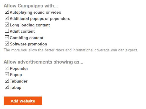 Popads | Mạng quảng cáo Popup, Popunder uy tín