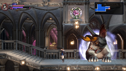 Bloodstained gameplay