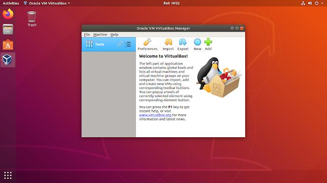 VirtualBox Linux Ubuntu