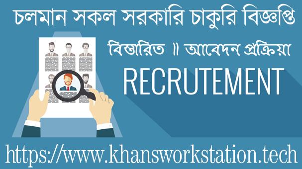 Running all Government Job Circular 2021