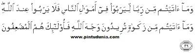 ayat ayat soal riba