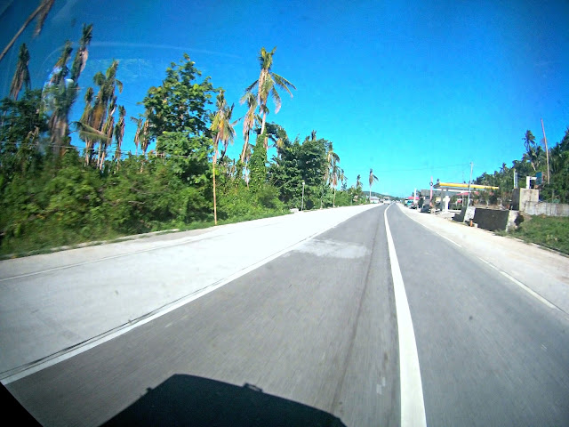 on the way to Sorsogon