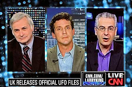 James Fox, Nick Pope & Seth Shostak Talk UFOs with Larry King