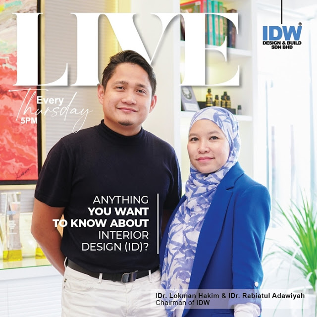 """IDW DESIGN & BUILD - BUKU INTERIOR DESIGN """"PLUG & PLAY"""" YANG PERTAMA DI MALAYSIA"""