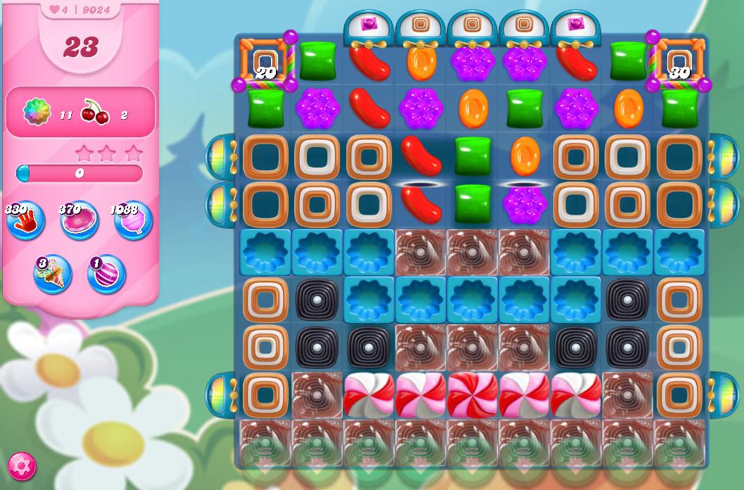 Candy Crush Saga level 9024