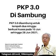 PKP 3.0 Disambung Sehingga 28 Jun