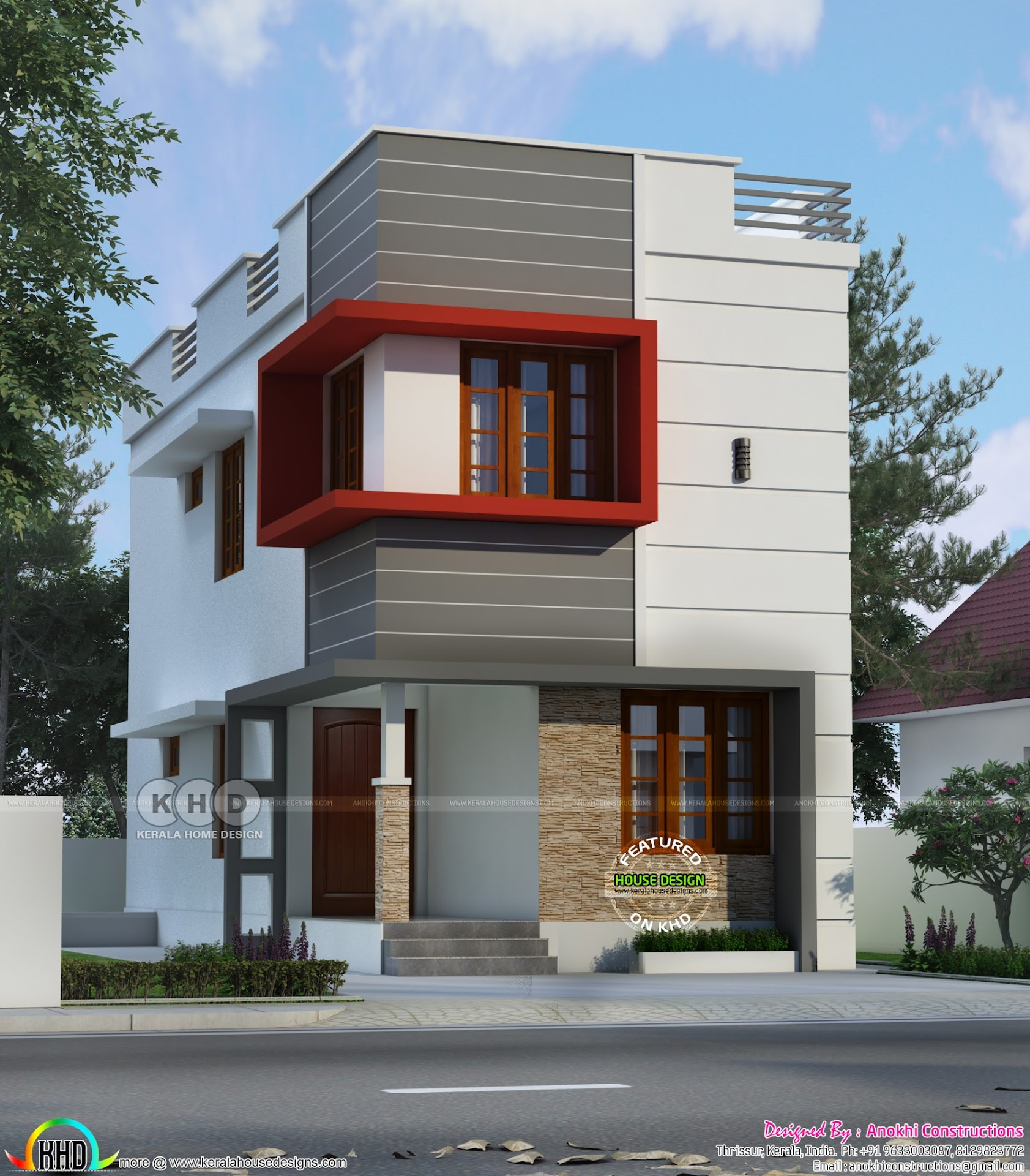 small budget 3bhk double floor house 1000 sft 1200 sq ft budget home in 2 cent plot kerala home