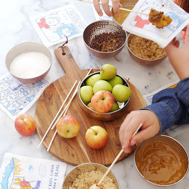 DIY Caramel Apple Station