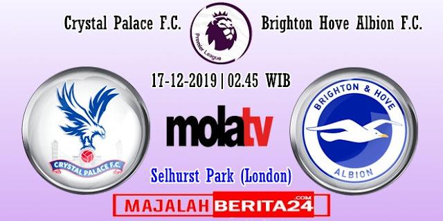 Prediksi Crystal Palace vs Brighton Hove Albion — 17 Desember 2019