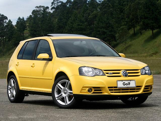 VW Golf GTI 2008 Amarelo Ímola
