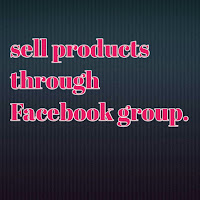 selling-products-through-facebook