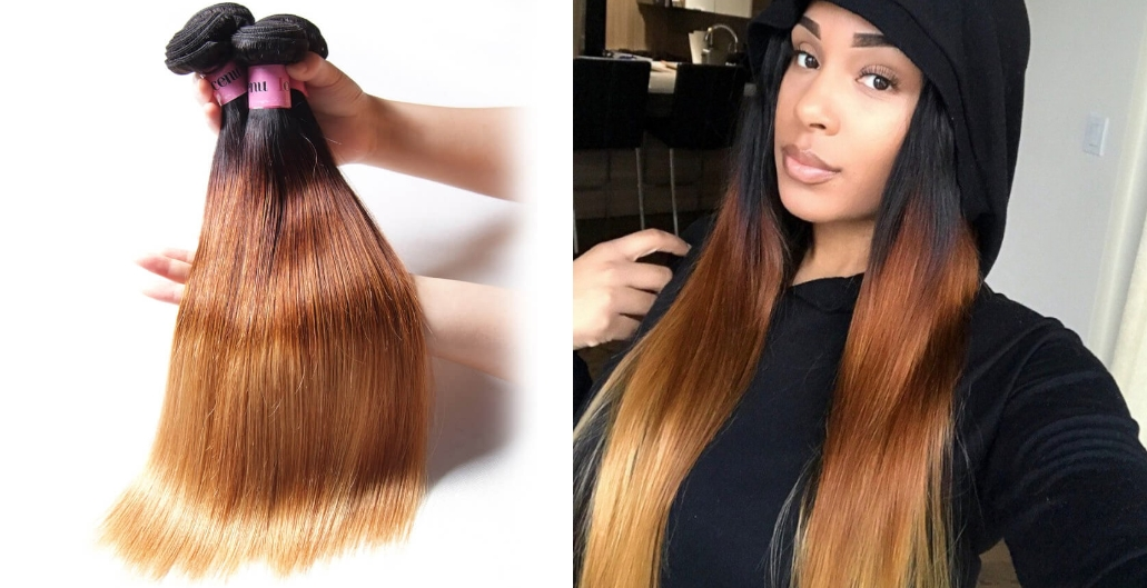 virgin ginger hair extensions