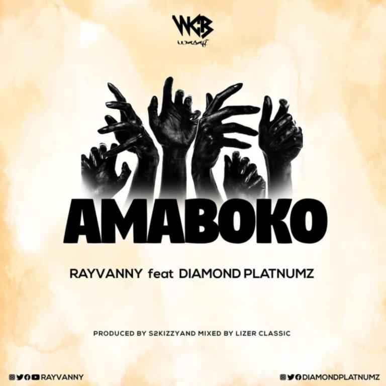 """Rayvanny – """"Amaboko"""" ft. Diamond Platnumz #Arewapublisize"""