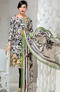 Khaadi Lawn 2016 Catalog for Eid-ul-Fitr