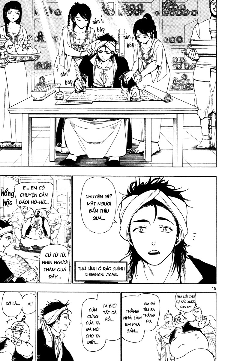 Magi The Labyrinth of magic chapter 5 trang 16