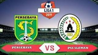 Persebaya vs PSS Sleman