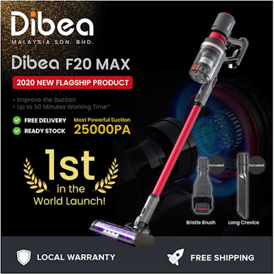Dibea F20 Vacuum Review Malaysia