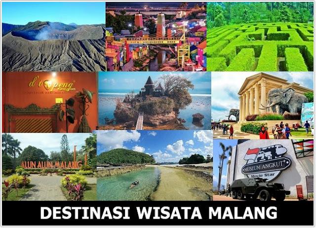 10 Top Destinasi Wisata Malang