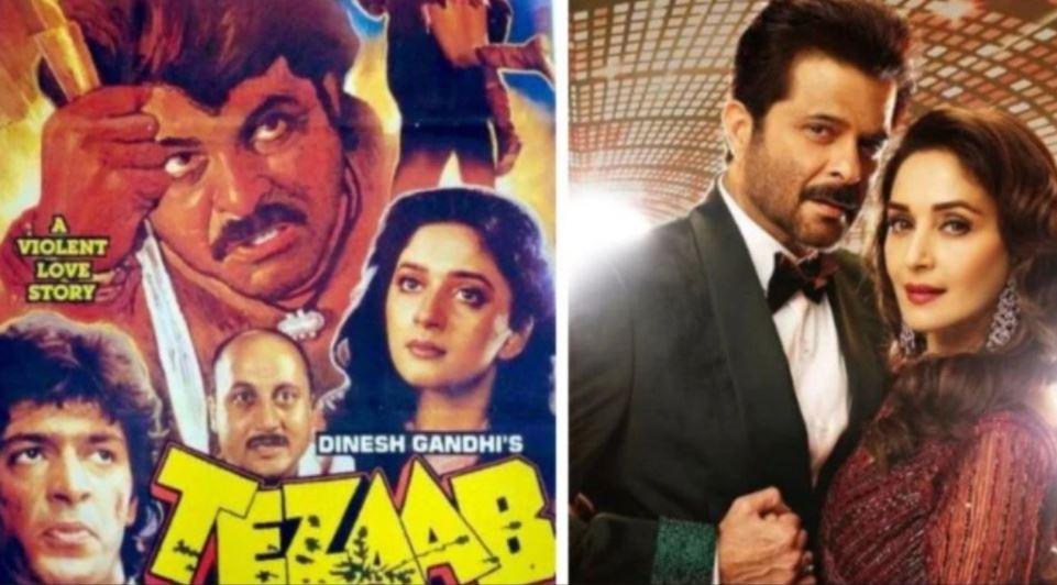 Film 'तेजाब' के 32 साल पूरे, अनिल कपूर और माधुरी दीक्षित ने सरोज खान को समर्पित की ये पोस्ट